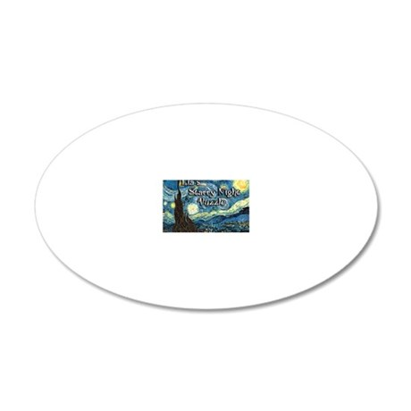 Lias 20x12 Oval Wall Decal