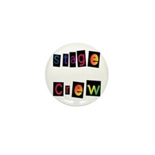 Stage Crew Mini Button (10 pack)