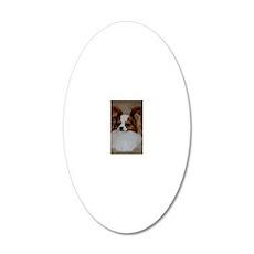 jhustin i-phone 20x12 Oval Wall Decal