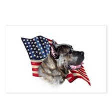 Cane Corso Flag Postcards (Package of 8)