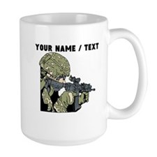 Custom Army Soldier Mugs