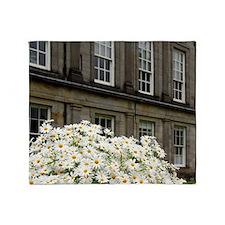 Edinburgh. Palace of Holyrood House  Throw Blanket