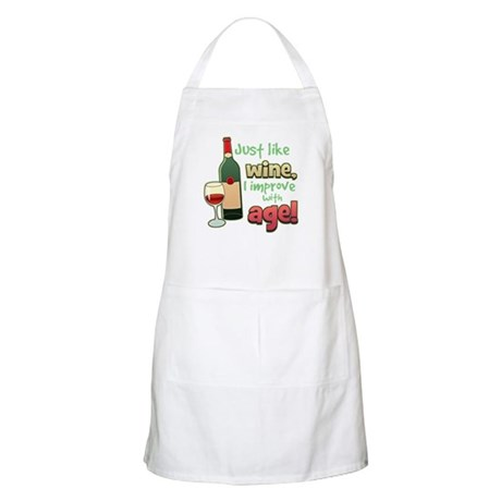 Improve With Age BBQ Apron
