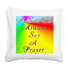 asap8x11 Square Canvas Pillow
