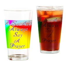 asap8x11 Drinking Glass