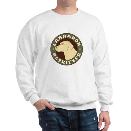Yellow Lab Crest - Sweatshirt