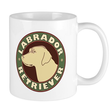 Yellow Lab Crest - Mug