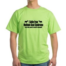 Multiple Goat Syndrome T-Shirt