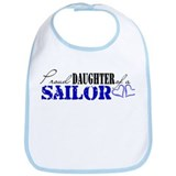 Proud daughter of a Sailor Bib