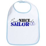 Proud Niece of a Sailor Bib