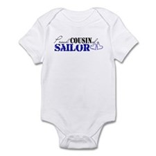 Proud Cousin of a Sailor Infant Bodysuit