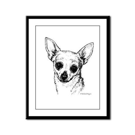Chihuahua Framed Panel Print