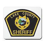 Lake County Sheriff Mousepad