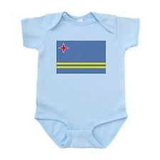 Aruba flag Infant Bodysuit
