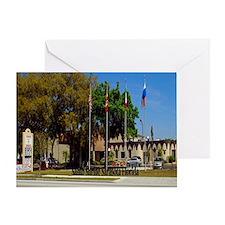 Sahib Shrine15.35x15.35 Greeting Card