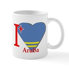 I love Aruba flag Mug
