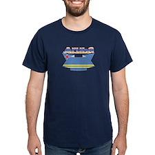 Aruba's flag ribbon T-Shirt