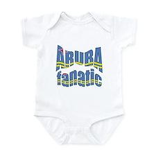 Flag of Aruba sports Infant Bodysuit