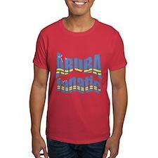 Flag of Aruba sports T-Shirt