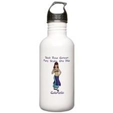 gabi_10x10_apparel Water Bottle