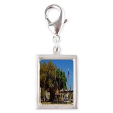 Sahib Shrine2.91x4.58 Silver Portrait Charm