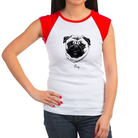 Pug Women's Cap Sleeve T-Shirt