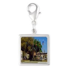 Sahib Shrine7.355x9.45 Silver Square Charm