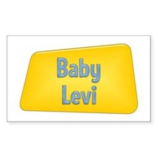 Baby Levi Rectangle Decal