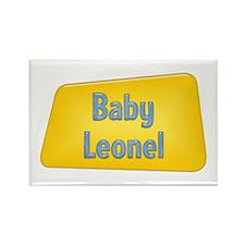 Baby Leonel Rectangle Magnet