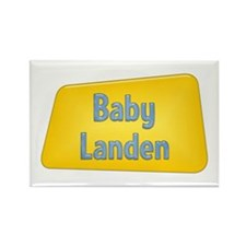 Baby Landen Rectangle Magnet (100 pack)