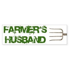 Farmer's Husband Bumper Bumper Sticker