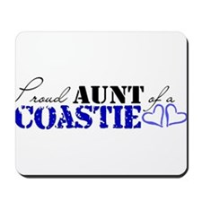 Proud Aunt of a Coastie Mousepad
