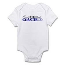 Proud Niece of a Coastie Infant Bodysuit