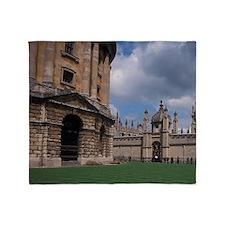 EUROPE, England, Oxford University Throw Blanket