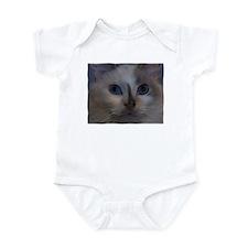 Cute Blue cat Infant Bodysuit