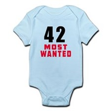 42 most wanted Infant Bodysuit
