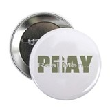 "Real Men Pray - Olive 2.25"" Button (10 pack)"