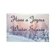 Joyous Winter Season Magnets
