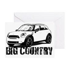 Big Country copy Greeting Card
