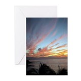 Puerto Vallarta Sunset #2 Greeting Cards (10Pk)