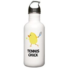 FBC Tennis Chick Black Water Bottle