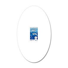 DalsDoItAllVert 20x12 Oval Wall Decal
