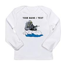 Custom Navy Seal Long Sleeve T-Shirt