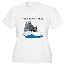 Custom Navy Seal Plus Size T-Shirt