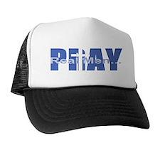 Real Men Pray - Azure Hat