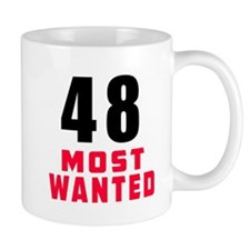 48 most wanted Mug