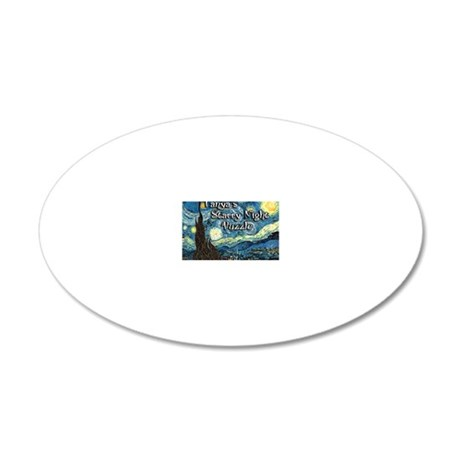 Tanyas 20x12 Oval Wall Decal