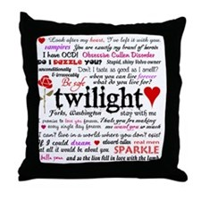 TwiTerms Blanket Throw Pillow