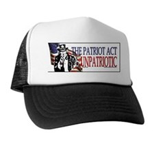 The Patriot Act Sucks Trucker Hat