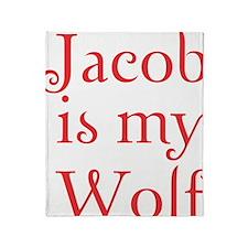 jacobwolf copy Throw Blanket